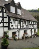 Renovated timbered farmhouse Royalty Free Stock Image