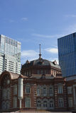 Renovated Tokyo Station in Japan Royalty Free Stock Photography
