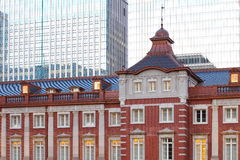 Renovated Tokyo Station in Japan Stock Photos