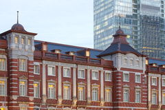 Renovated Tokyo Station in Japan Royalty Free Stock Photo