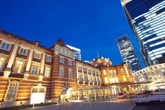 Renovated Tokyo Station in Japan Stock Photography