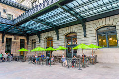 Renovated Union Station in Denver Colorado Royalty Free Stock Images