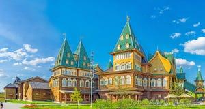 The renovated wooden Palace in Kolomenskoye