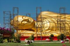 Renovating buddha image Stock Photography