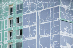 Renovating building Stock Photo