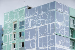 Renovating building Royalty Free Stock Photography