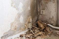 Renovating at home Stock Images