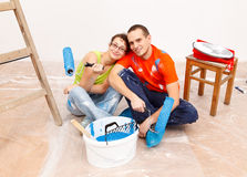 Renovation Royalty Free Stock Photo