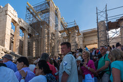 Renovation of the Acropolis, Athens, Greece Stock Photography
