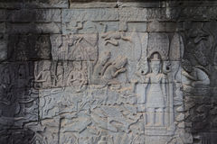 After renovation in Angkor  Stock Image