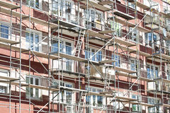 Renovation of an apartment building Royalty Free Stock Photo