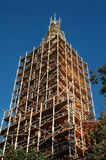 Renovation of an church tower Royalty Free Stock Images