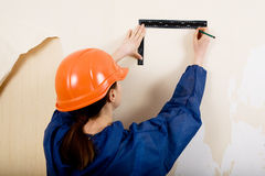 Renovation of house interior royalty free stock image