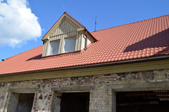 The renovation of a house. Royalty Free Stock Image