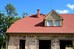 The renovation of a house. Stock Image
