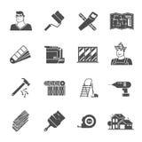 Renovation Icons Set Royalty Free Stock Photo