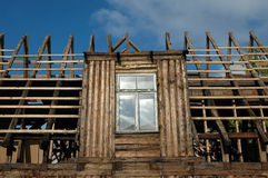 Renovation old house Royalty Free Stock Photography
