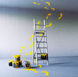 Renovation painting Royalty Free Stock Image