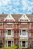 Renovation of Dutch apartment houses in Amsterdam Stock Image