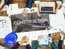 Renovation Repair Construction Design Website Concept Royalty Free Stock Photos