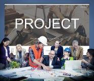 Renovation Repair Construction Design Website Concept Stock Images