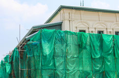 Renovation and Repairing the roof temple Stock Photography