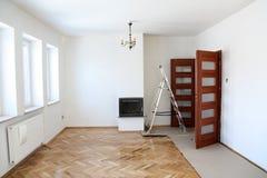 Renovation sitting room Royalty Free Stock Image