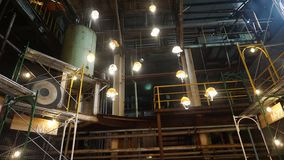 Renovation of a sugar factory becomes art and cultural park stock photos