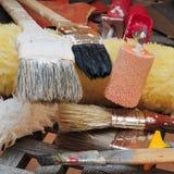 Renovation Tools Royalty Free Stock Image