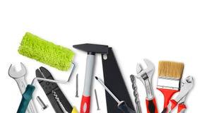 Renovation tools Stock Photo