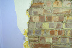 Renovation of the wall Royalty Free Stock Image