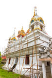 The renovation Wat Pranangsang, Phuket, Thailand. Royalty Free Stock Photos