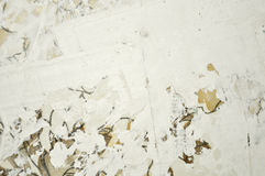 Renovation white stucco wall. Texture stock image