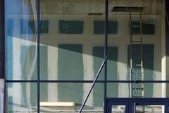 Renovation work in Parisian apartment Royalty Free Stock Photo