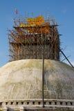 Renovations of Boudhanath Stupa, Kathmandu, Nepal Stock Photos
