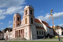 Renovations at Gottweig Abbey - Wachau Abbey Stock Images
