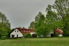 Renoverad historisk lantlig byggnad Royaltyfria Bilder