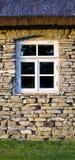 renoverat fönster Arkivfoton