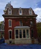 Renovering av ett spökat hus Arkivbild