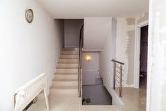 Renovering av lägenheten Arkivbild