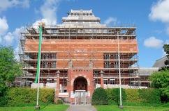 Renovering av stadshuset Arkivfoton
