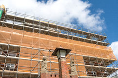 Renovering av stadshuset Royaltyfria Foton