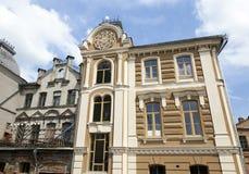 Renovering av synagogan Arkivbilder