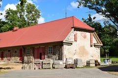 Renoveringen av ett hus Royaltyfri Bild