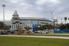 Renoveringen av Hammond Stadium Arkivbilder