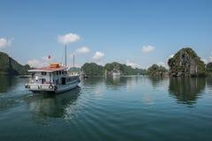 Renowned Ha Long Bay Royalty Free Stock Photography