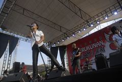 RENOWNED INDONESIAN ROCK BAND Stock Images