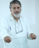 Renowned scientist/doctor Royalty Free Stock Photos