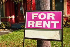 For rent Royalty Free Stock Photo
