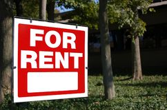 For rent Royalty Free Stock Photography